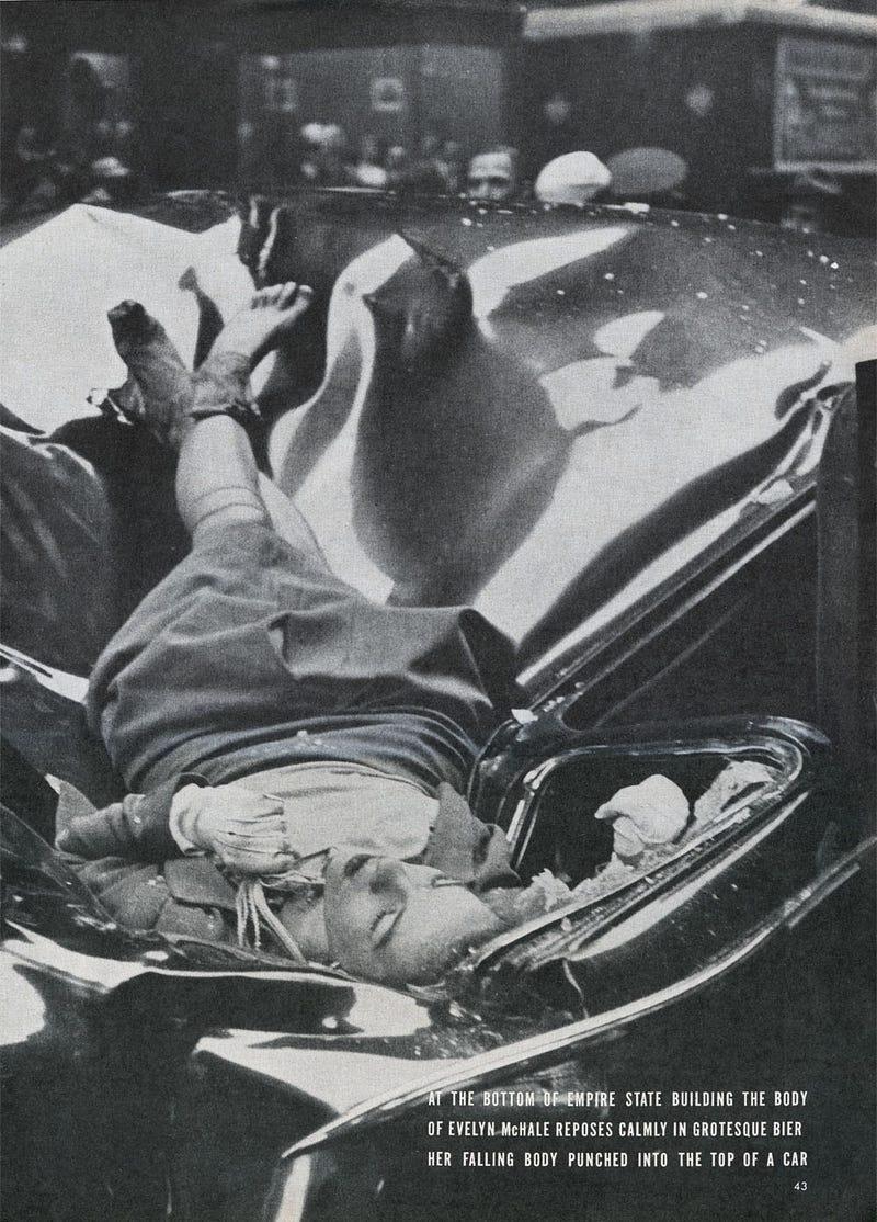 Самоубийство Дороти Хейл
