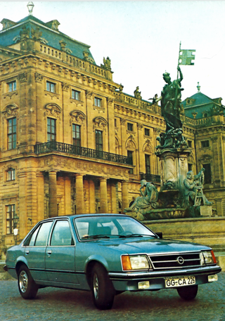 Illustration for article titled TIL that Opel, Borgward and Cadillac made press photos in my town