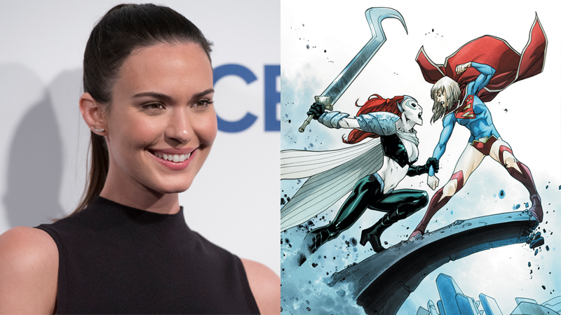 Supergirl: Odette Annable cast as season 3 big bad Reign