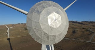 Illustration for article titled This Captain America-Style Shield Makes Wind Turbines More Powerful