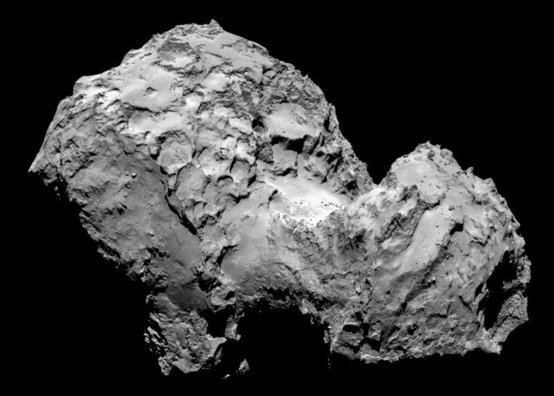 Illustration for article titled La nave Rosetta alcanza con éxito su cometa