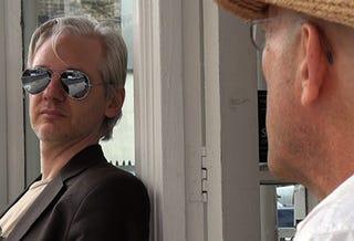 Illustration for article titled Assange-a-rama Docu-drama