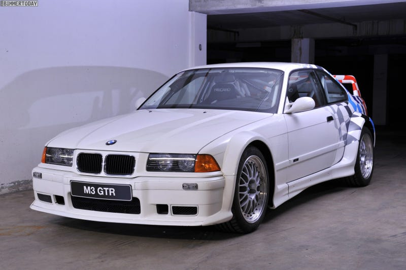 tell me more about the e36 m3 gtr