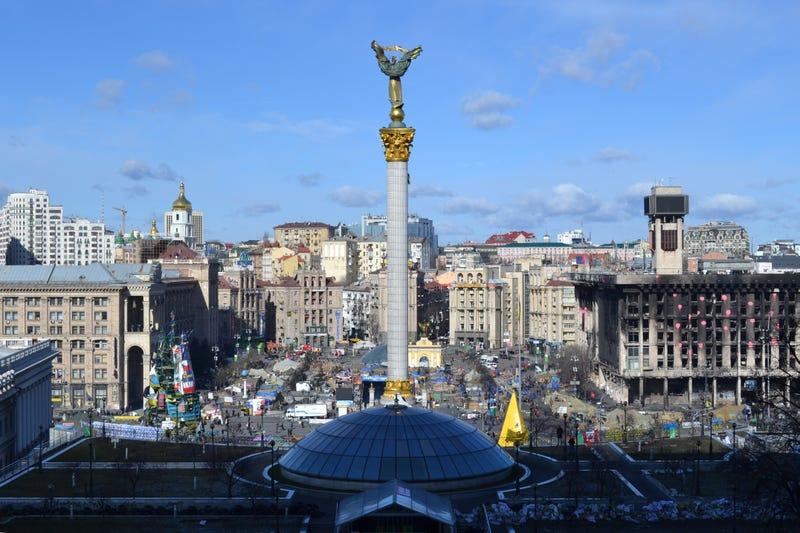 Illustration for article titled Így néz ki a Majdan egy hónappal a forradalom után