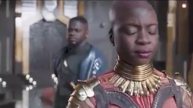 Illustration for article titled Newly Released Deleted Scene From Black Panther Explains W'Kabi and Okoye's Relationship