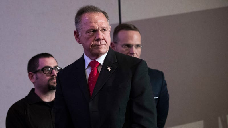 Trump makes the case for voting Roy Moore - again