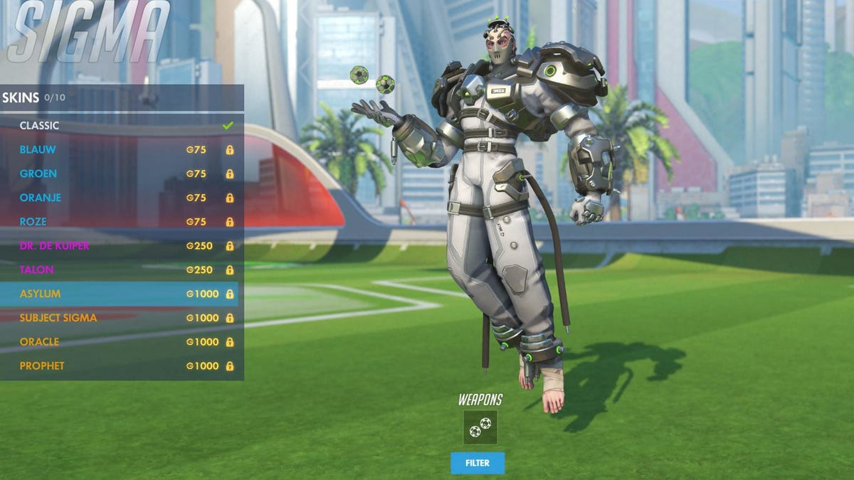Sigma's New 'Asylum' Skin Raises Concerns About Overwatch's