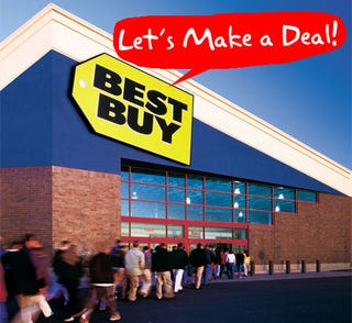 Illustration for article titled Wow: Best Buy and Circuit City Unofficially OK With Haggling