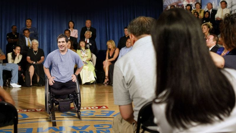 Kurstin has motivated all who come into contact with him to not lose use of their legs or arms.