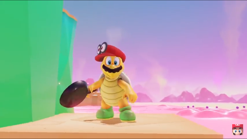 Illustration for article titled Mario Isn't Possessed By His Hat