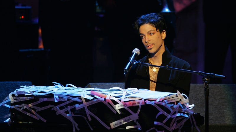 """Illustration for article titled Universal is making a movie """"inspired by"""" Prince's music"""