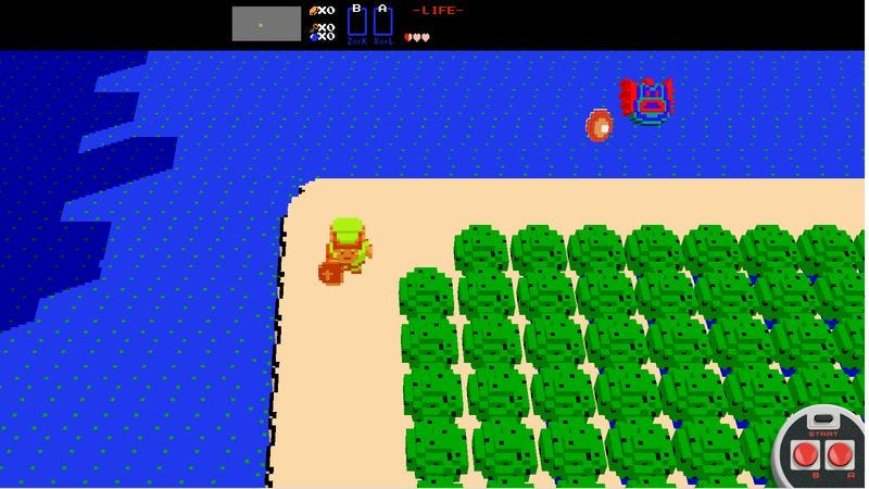 Illustration for article titled For now, a free 3D Legend Of Zelda game is playable on any browser