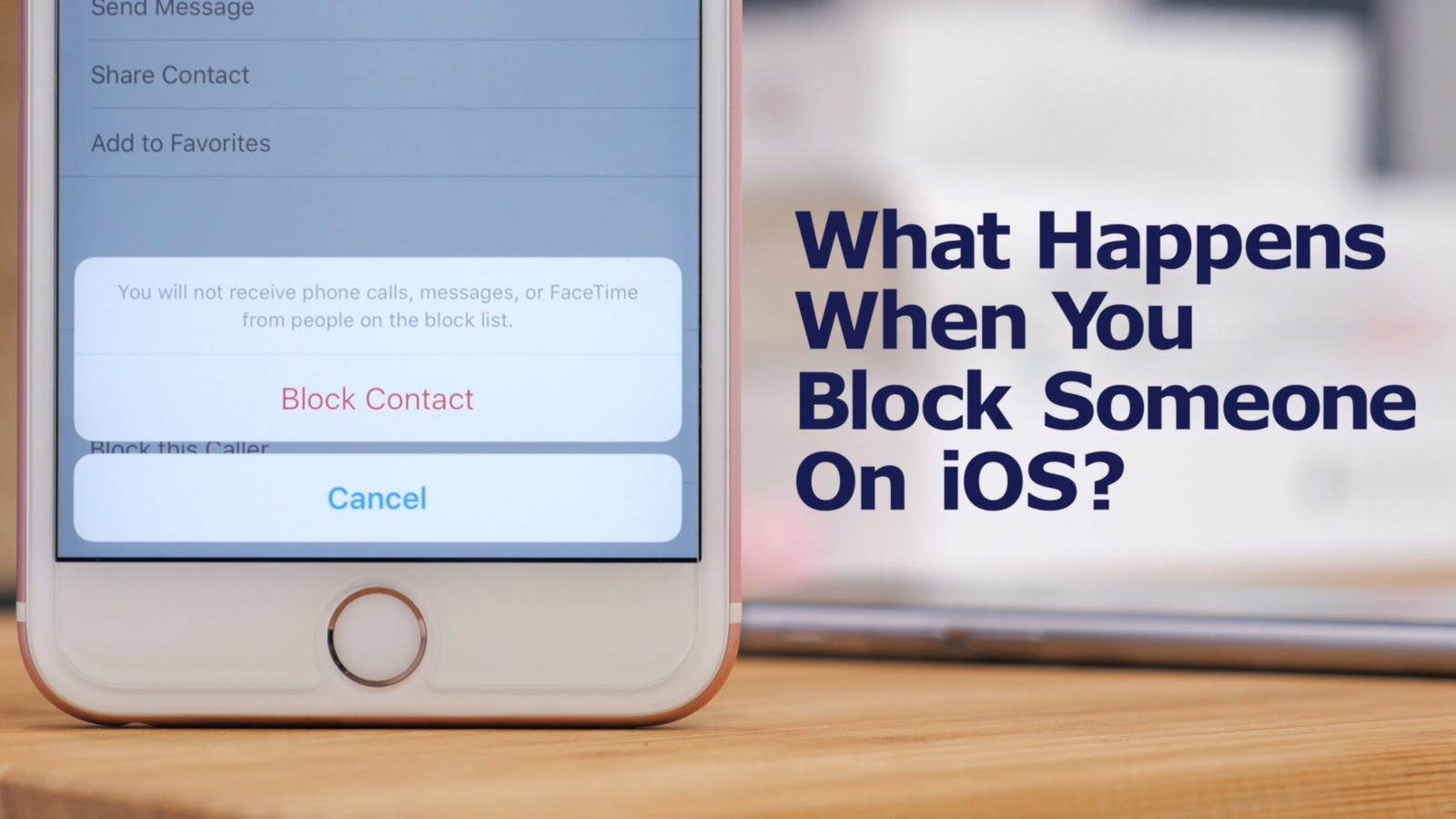 if you block someone on iphone what actually happens when you block someone on your iphone 4608