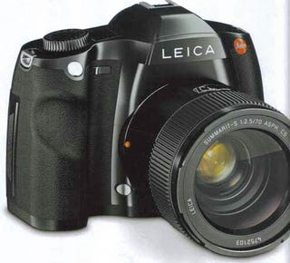 Illustration for article titled Leica Leaks Out New High-End S System With 37MP, Almost-Medium-Format S2 DSLR