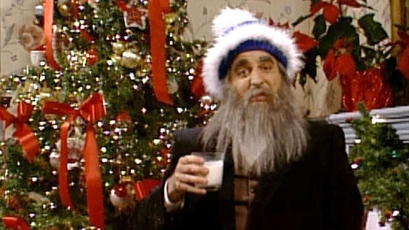 "Illustration for article titled Saturday Night Live's ""Hanukkah Harry"" gave Jewish people their own Santa"