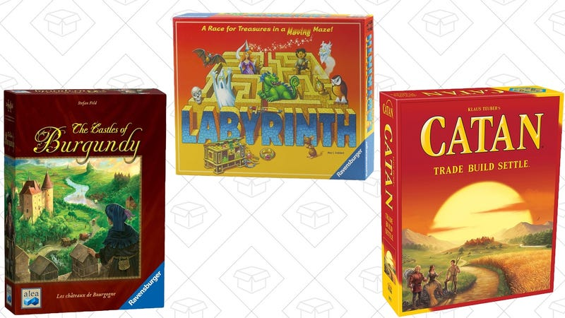 Board Game Gold Box | Settlers of Catan, $29