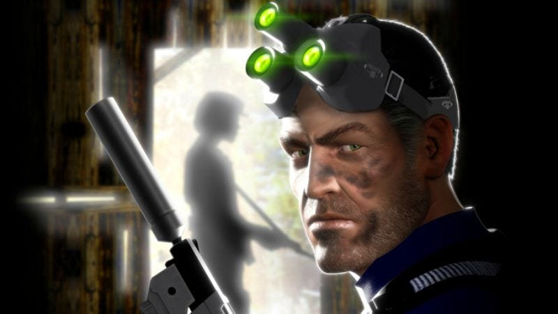 Illustration for article titled Geopolitics-and-goggles game Splinter Cell could become a movie