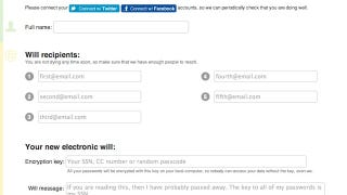 Illustration for article titled PassMyWill Sends Out Your Passwords After You Die