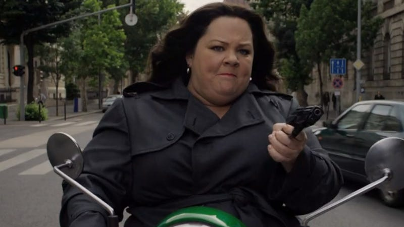 Illustration for article titled Melissa McCarthy Gamely Tries Some Espionage in This Spy Trailer
