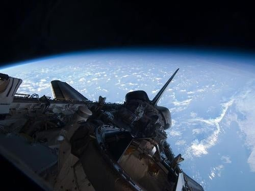 Space Shuttle Atlantis: The Beautiful Music Video Launch