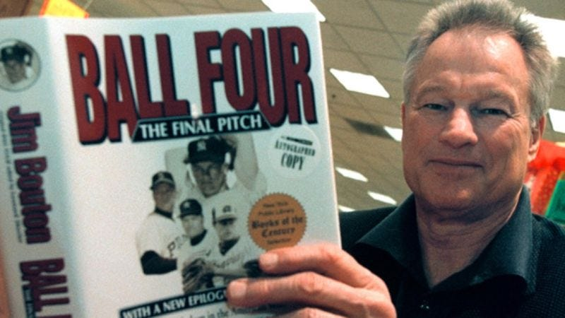 Illustration for article titled Jim Bouton's Ball Four