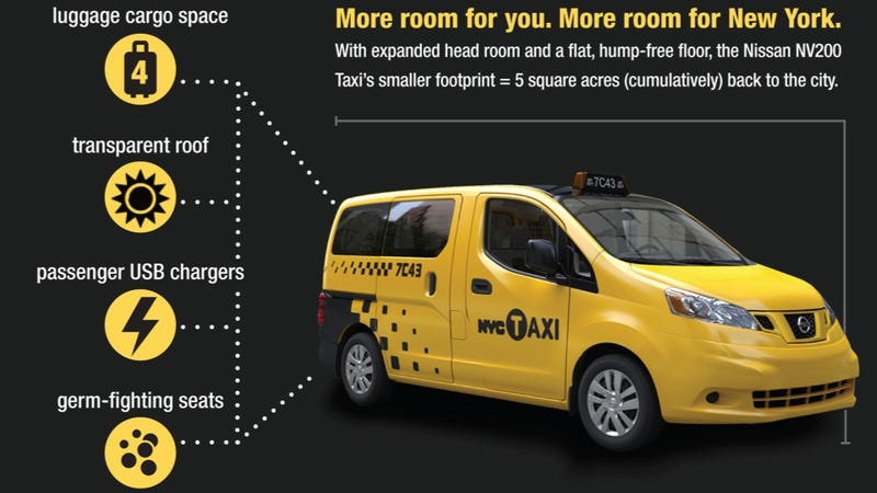Illustration for article titled New York, This Is Your New Taxi