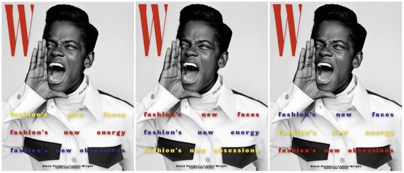 Illustration for article titled A Joyful Noise! Letitia Wright Covers W Magazine