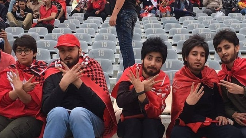 Illustration for article titled Tehran Authorities Released Four Women Who Were Arrested For Sneaking Into A Soccer Match Dressed Like Men