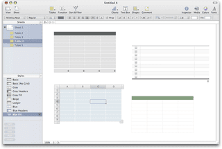 Illustration for article titled iWork's Numbers changes the spreadsheet paradigm