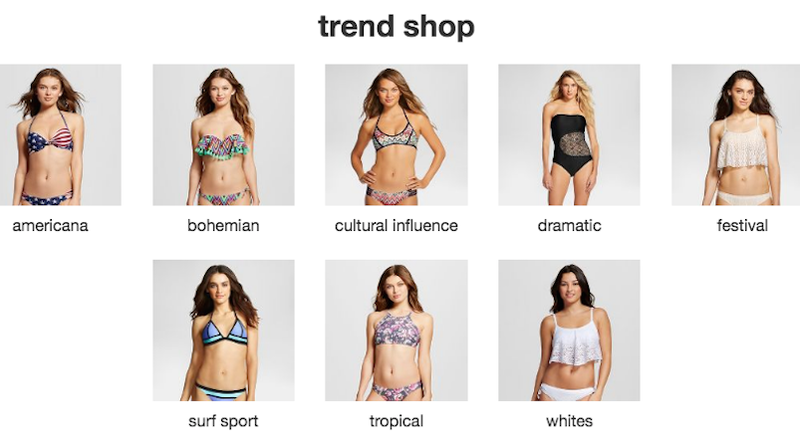 Illustration for article titled Dramatic, Tropical, Cultural or White: Which One of These Inclusive Target Swimsuit Trends Are You?