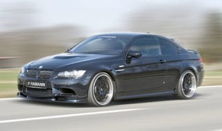 Illustration for article titled Hamann Kicks The E92 M3 Coupe Up A Notch... Or 35