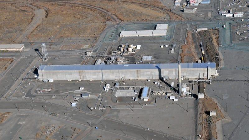 Purex, la antigua planta de procesamiento químico de Hanford donde ocurrió el accidente