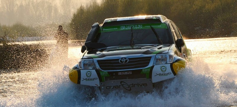Illustration for article titled Here's The Off-Road Racing Action You Missed At The Italian Baja Rally