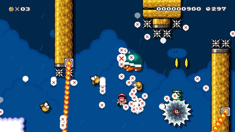Illustration for article titled Legendary Mario Player Is Building Some Of The Hardest Mario Maker 2 Levels You'll Ever See