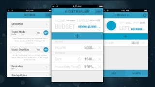 budgt is a simple budget tracking app that easily and quickly