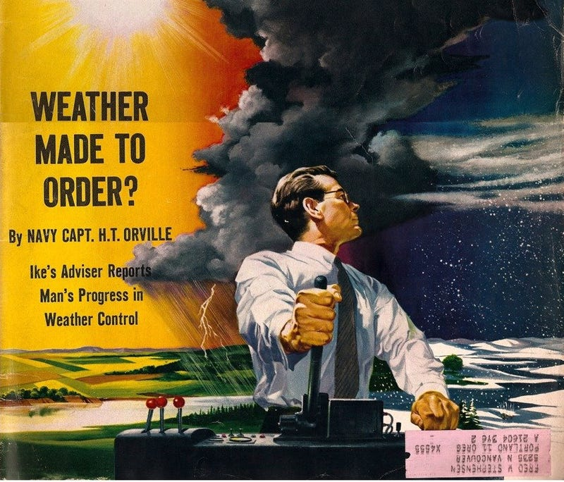 Illustration for article titled Weather Control as a Cold War Weapon