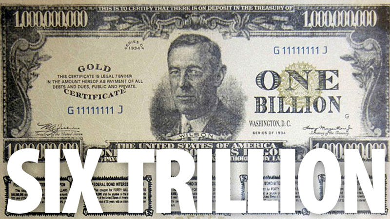 Illustration for article titled Criminal Network Wanted To Use These $1 Billion Bills To Acquire Plutonium