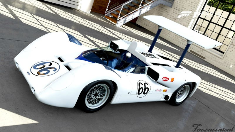 Illustration for article titled Forza 5 To Get Chaparral in Next DLC