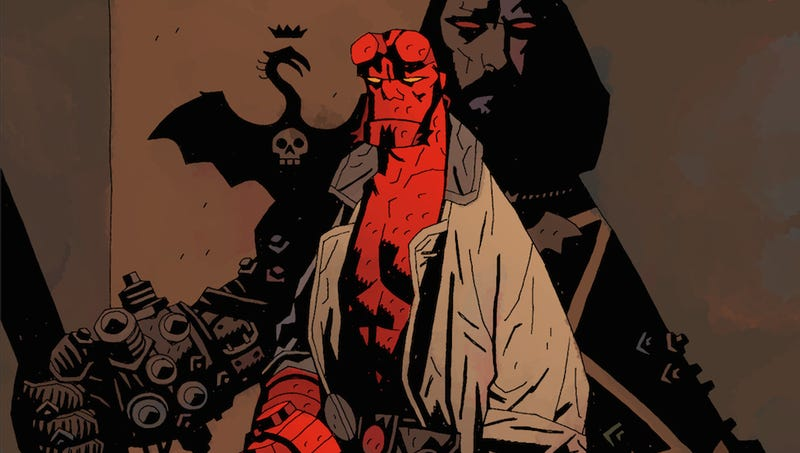 Image result for mike mignola art hellboy