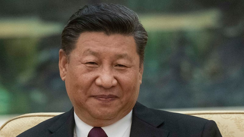 "President Xi Jinping, who has inspired the new ""feminine virtue"" class."