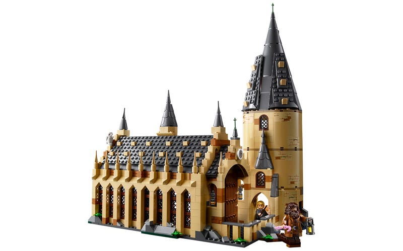 The New Lego Harry Potter Line Starts With Hogwarts Great Hall