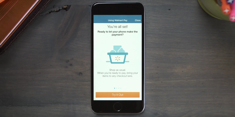 Illustration for article titled You Can Now Pay at Wal-Mart Using Your Mobile
