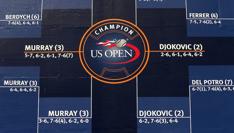 Illustration for article titled The Murray-Djokovic U.S. Open Men's Final Is On. Let's Watch.