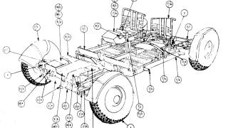Illustration for article titled Now You Can Download the Original Lunar Rover Manual
