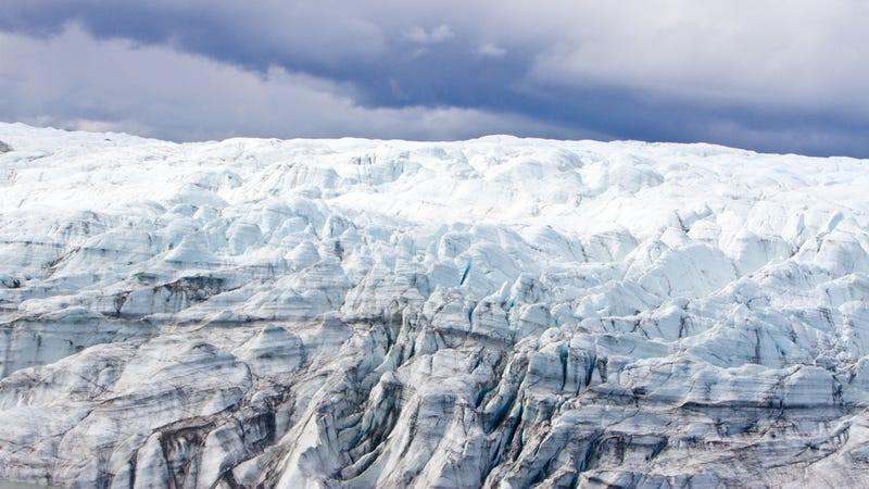 A section of Greenland's ice sheet.