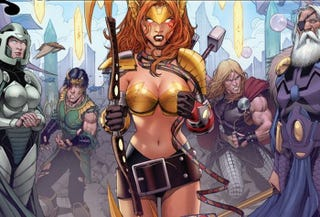 Illustration for article titled Angela is Thor's what?! Marvel's Original Sin retcon plans