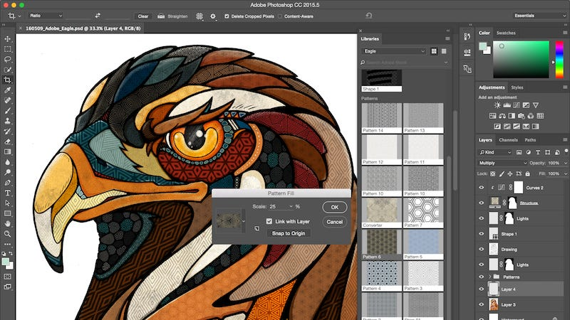 Illustration for article titled Adobe Rolls Out Big Update for Photoshop CC, Smaller Updates for the Rest of Its Apps