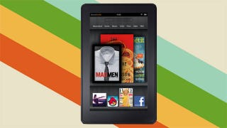 Illustration for article titled Amazon Introduces $200 Kindle Fire Touch Tablet, $79 Kindles, and More