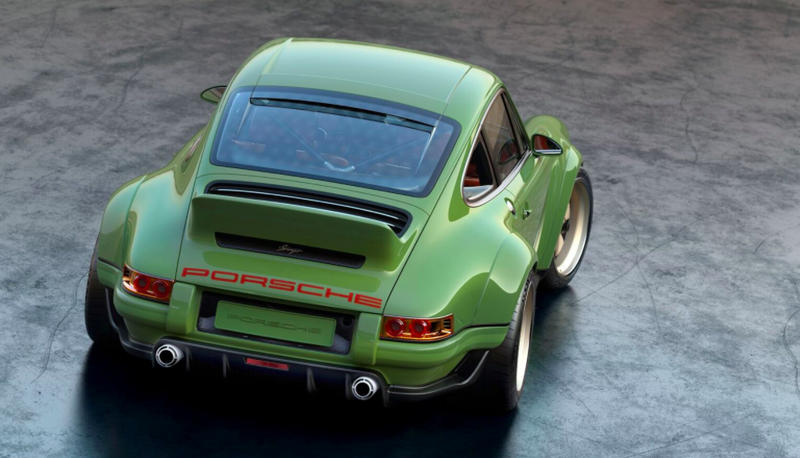 Singer's latest 911 restoration project is worth drooling over