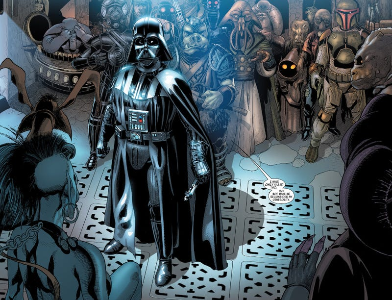 Illustration for article titled New Star Wars Comic Will Remind You Why You Love (and Hate) Darth Vader